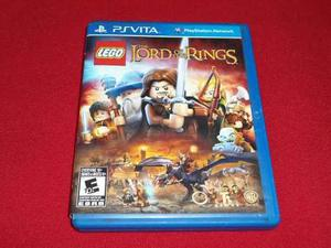 Longaniza Games * Ps Vita Lego Lord Of The Rings