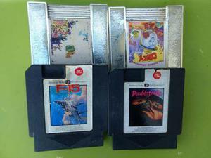 Lote De 4 Juegos Cartuchos American Nintendo Nes