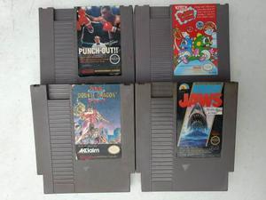 Lote De 4 Juegos Nintendo Nes Envio Gratis