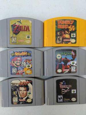 Lote De 5 Juegos Nintendo 64 Envío Gratis Zelda