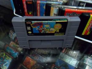 Mario Paint Player's Choice Super Nintendo Snes Cartucho