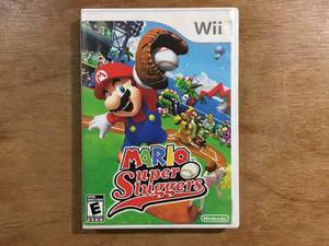 Mario Super Sluggers Para Nintendo Wii En Buen Estado