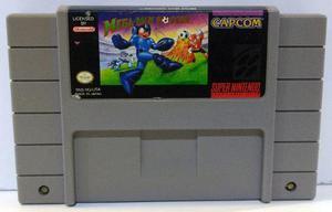 Mega Man Soccer Super Nintendo Snes Cartucho Retromex Tcvg