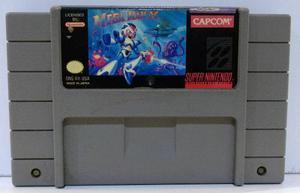 Mega Man X Super Nintendo Snes Cartucho Retromex Tcvg