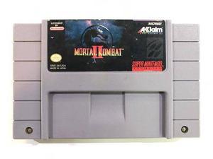 Mortal Kombat 2 Super Nintendo Snes Cartucho Retromex Tcvg