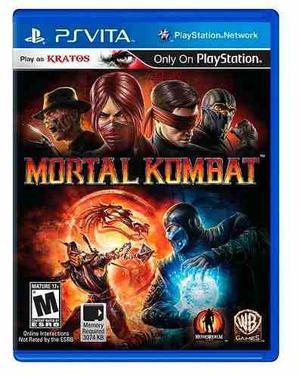 Mortal Kombat Para Ps Vita,excelente Titulo,checalo