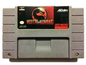 Mortal Kombat Snes - Super Nintendo