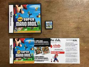 New Super Mario Bros Completo Para Nintendo Ds Buen Estado