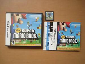 New Super Mario Bros Nintendo Ds Completo Rtg +++++