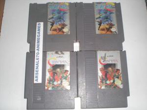 Nintendo Contra Y Super C Nes