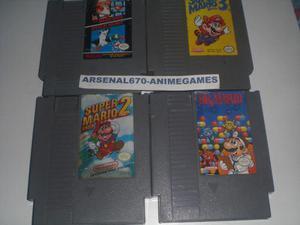 Nintendo Nes Trilogia Super Mario Bros + Dr Mario Nes