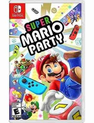 Nintendo Switch Super Mario Party Standard Edition