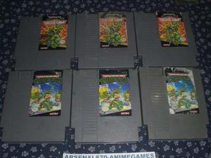 Nintendo Tortugas Ninja 1 Y 2 Ninja Turtles Nes