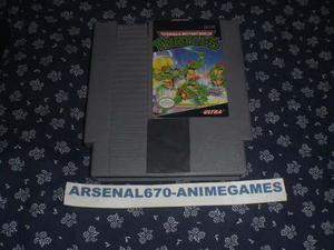 Nintendo Tortugas Ninja Teenace Mutant Ninja Turtles B Nes