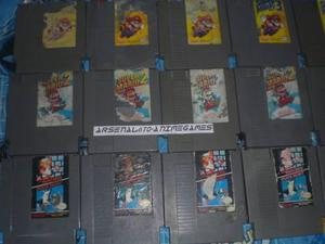 Nintendo Trilogia Super Mario Bros B Nes 1, 2 Y 3