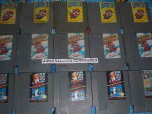 Nintendo Trilogia Super Mario Bros Nes Super Mario Bros 3