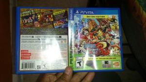One Piece: Unlimite World Red Para Ps Vita