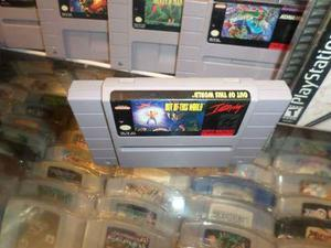 Out Of This World Super Nintendo Snes Cartucho