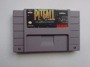 Pitfall Snes The Mayan Adventure Snes Super Nintendo