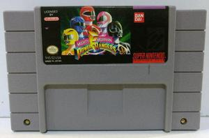 Power Rangers Super Nintendo Snes Cartucho Retromex Tcvg