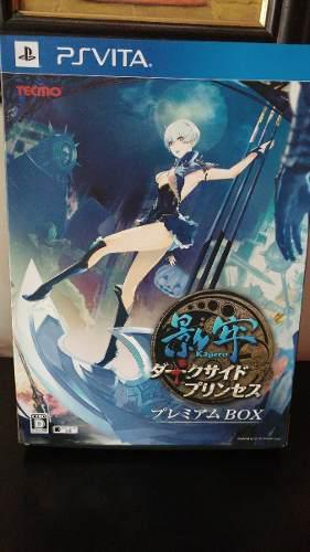 Ps Vita Kagero Dark Side Princess Premium Box Set Japon Game