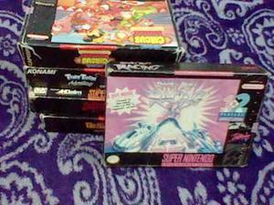 Rock N Roll Racing Snes Super Nintendo Caja Instructivo Ñxv