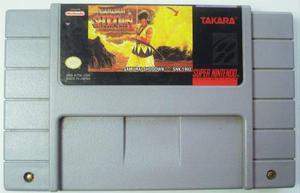 Samurai Shodown Super Nintendo Snes Cartucho Retromex Tcvg