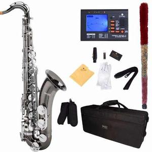 Saxofon Alto Mendini Negro Mi Bemol Envió Gratis
