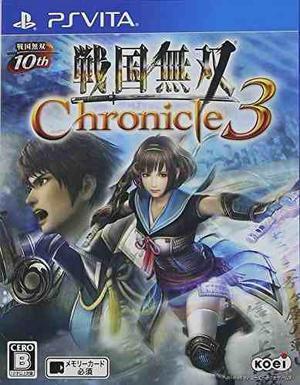 Sengoku Musou 3 Crónica 3 Ps Vita Regular Edition Importaci