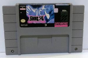 Shaq-fu Super Nintendo Snes Cartucho Retromex Tcvg