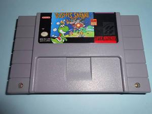 Snes Yoshis Safari Super Nintendo Impecable