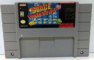 Space Invaders Super Nintendo Snes Cartucho Retromex Tcvg