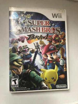Súper Smash Bros Brawl Para Nintendo Wii