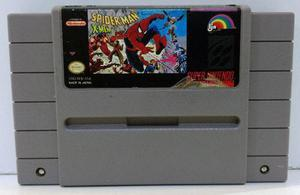 Spiderman X-men Super Nintendo Snes Cartucho Retromex Tcvg