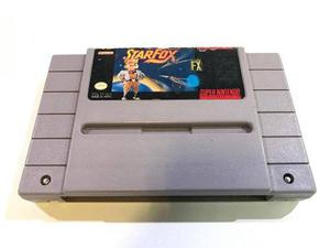 Star Fox Super Nintendo Snes Cartucho Retromex Tcvg