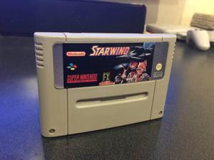 Star Wing Star Fox Para Super Nintendo