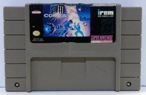 Street Combat Super Nintendo Snes Cartucho Retromex Tcvg