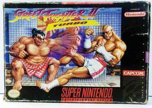 Street Fighter Ii 2 Turbo Super Nintendo Snes Retromex Tcvg