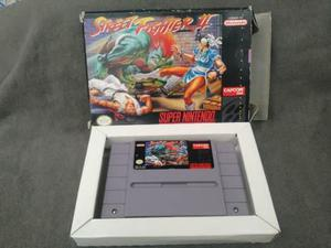 Street Fighter Ii Con Caja Super Nintendo Snes
