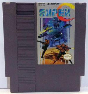 Super C Contra Nintendo Nes Cartucho Retromex Tcvg