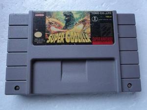 Super Godzilla Super Nintendo (snes)