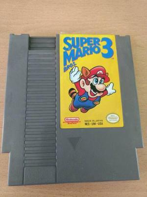 Super Mario 3 Nintendo Nes Juego Cartucho