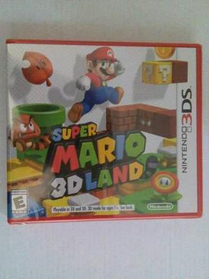 Super Mario 3d Land 3ds Nuevo Sellado Nintendo Trqs Bros