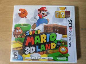 Super Mario 3d Land Nintendo 3ds --- Es Solo La Caja---