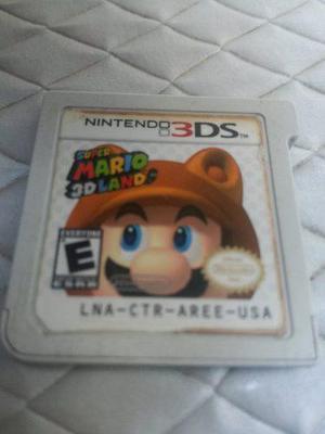 Super Mario 3d Land Nintendo 3ds Solo Cartucho