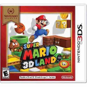 Super Mario 3d Land Para Nintendo 3ds Nuevo Y Sellado