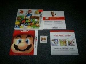 Super Mario 3dland Completo Para Nintendo 3ds,excelente.