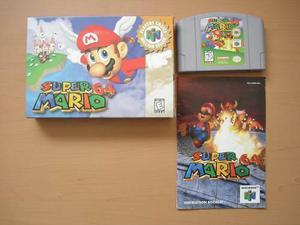 Super Mario 64 Completo Nintendo 64 Rtg +++++