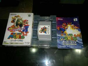 Super Mario 64 Rumble Edition Completo Nintendo 64 Japones