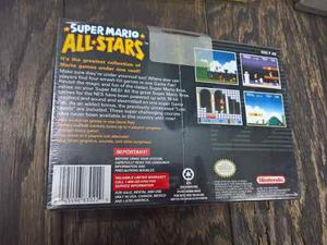 Super Mario All Star Super Nintendo Nuevo
